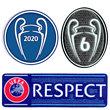 Champions League 6 Siege Klein CL Logo 3er Set WINNER 2020