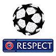 Champions League Groß CL Logo 2er Set