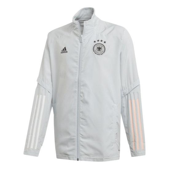Adidas Deutschland DFB Präsentationsjacke EM 2021 Kinder Grau