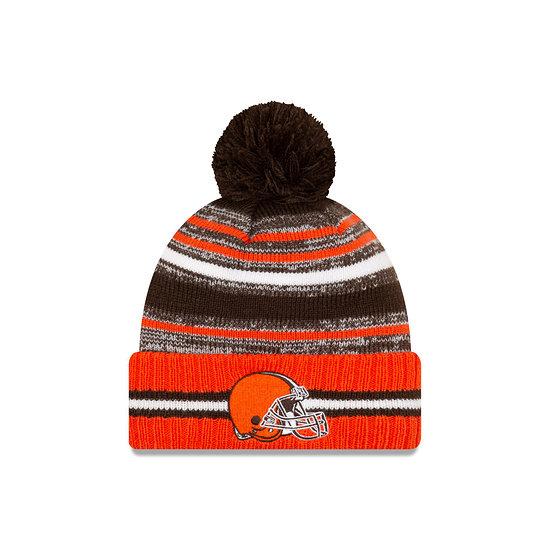 New Era Cleveland Browns Beanie Sport Knit Cold Weather orange