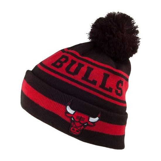 New Era Chicago Bulls Beanie Team schwarz