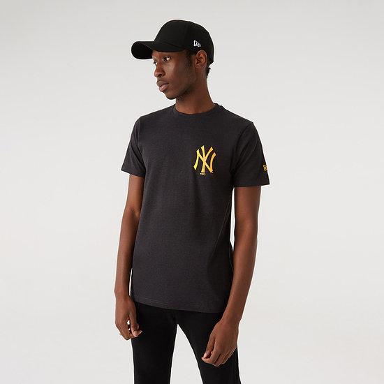 New Era New York Yankees T-Shirt Neon grau