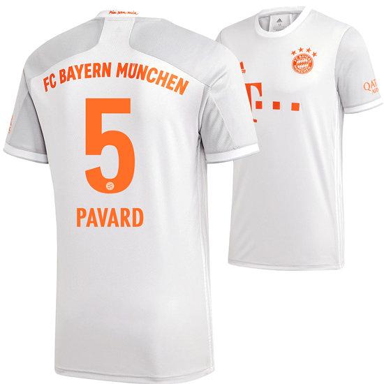 Adidas FC Bayern München Auswärts Trikot PAVARD 2020/2021 Kinder