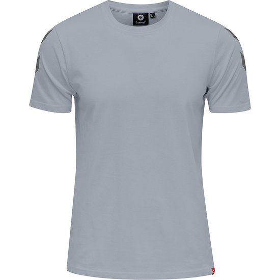 hummel T-Shirt Legacy Chevron grau melange
