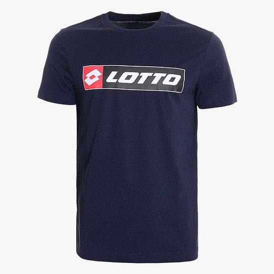 Lotto T-Shirt Logo Jersey navy blue