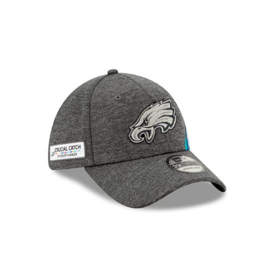 New Era Philadelphia Eagles Cap Crucial Catch 39THIRTY grau