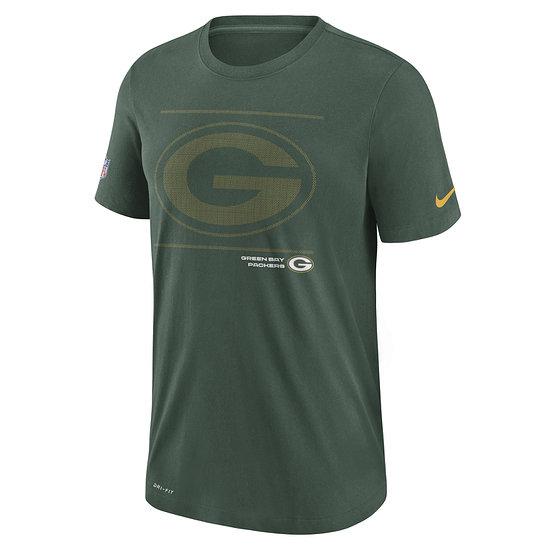 Nike Green Bay Packers T-Shirt Team Issue grün