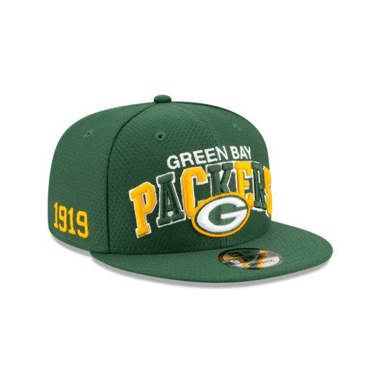 New Era Green Bay Packers Cap Sideline 9FIFTY grün