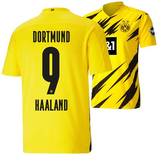 Puma Borussia Dortmund Heim Trikot 2020/2021 HAALAND