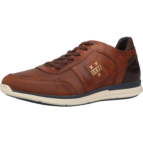 Bullboxer Sneaker Leder tan/cognac
