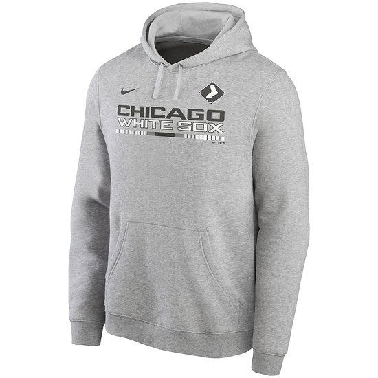 Nike Chicago White Sox Hoodie Color Bar Club grau