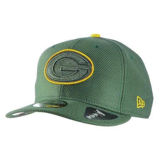 New Era Green Bay Packers Cap Team Outline 9FIFTY grün