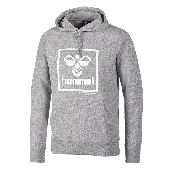 hummel Sport Basic Hoodie grau