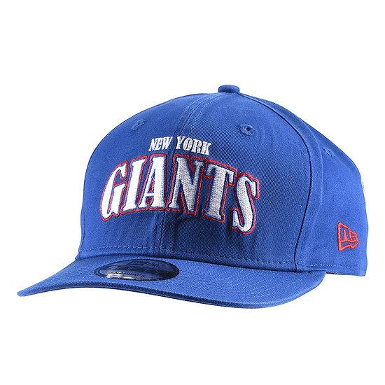 New Era New York Giants Cap Pre Curved 9FIFTY blau