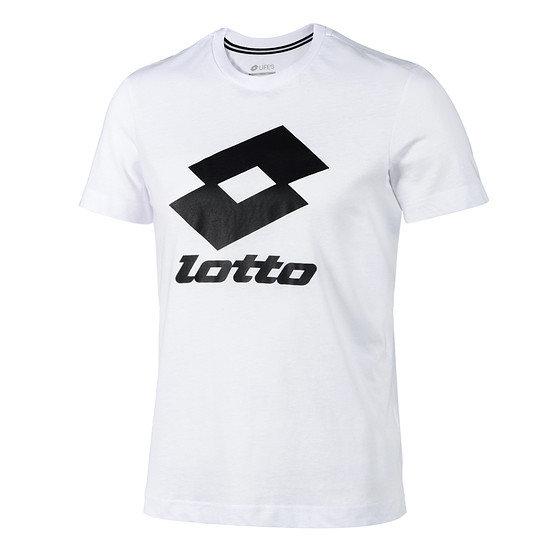 Lotto T-Shirt Smart Logo weiß/schwarz