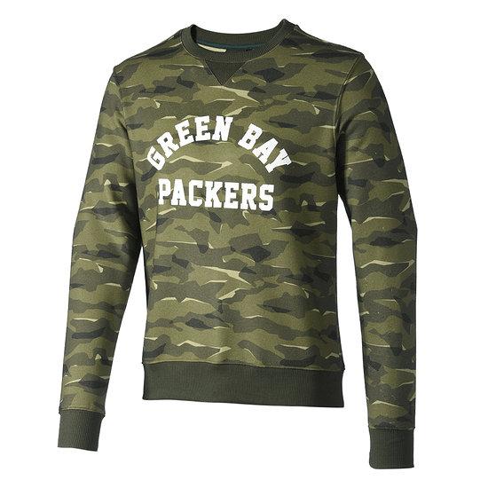 Fanatics Green Bay Packers Sweatshirt Digi Camo khaki