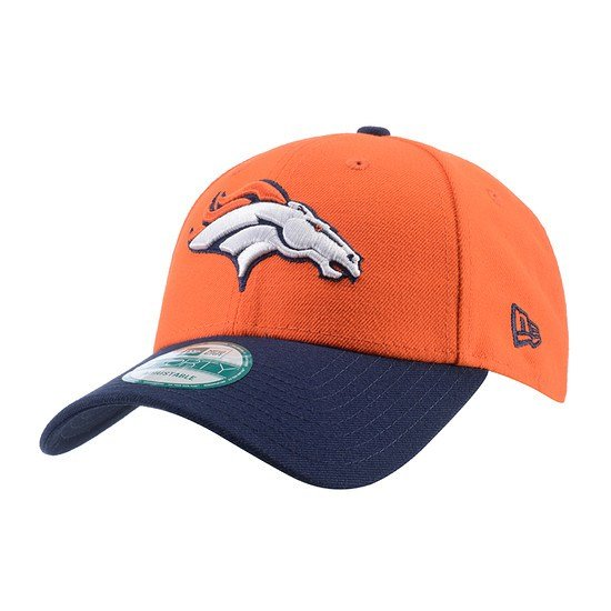 New Era Denver Broncos Cap The League orange/blau