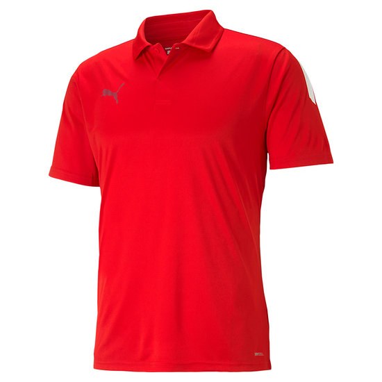 Puma Poloshirt TEAMLIGA Rot