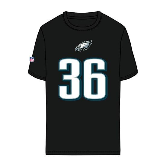 Majestic Athletic Philadelphia Eagles T-Shirt Ajayi No 36 Eligible Receiver schwarz