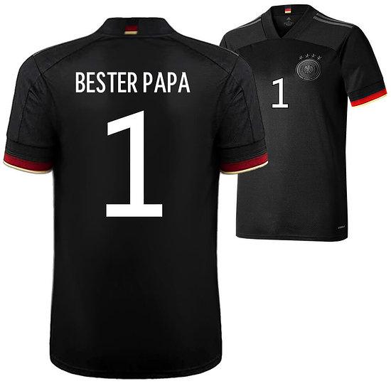 Adidas Deutschland EM 2021 DFB Trikot Auswärts - BESTER PAPA 1