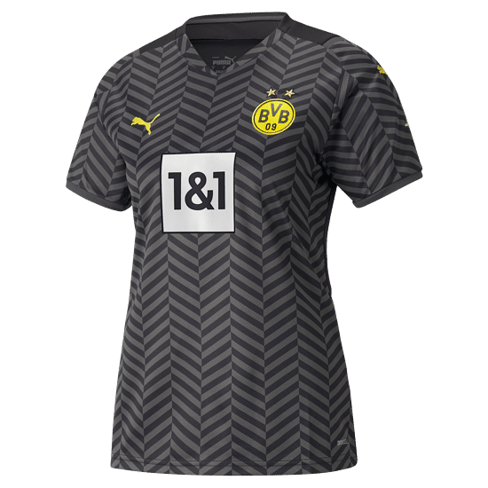 Puma Borussia Dortmund Trikot 2021/2022 Auswärts Damen