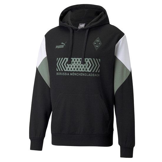 Puma Borussia Mönchengladbach Hoodie Culture 2021/2022 Schwarz