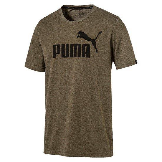 Puma T-Shirt ESS No. 1 Dunkelgrün