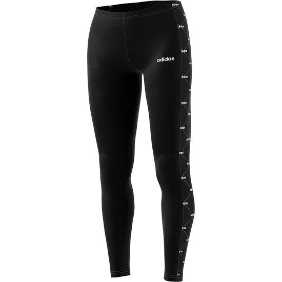 Adidas Tights Core Linear schwarz/weiß