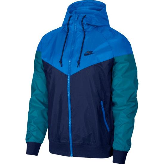 Nike Kapuzenjacke Windrunner Dunkelblau/Blau