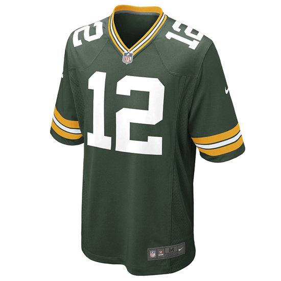Nike Green Bay Packers Trikot Heim Game Rodgers