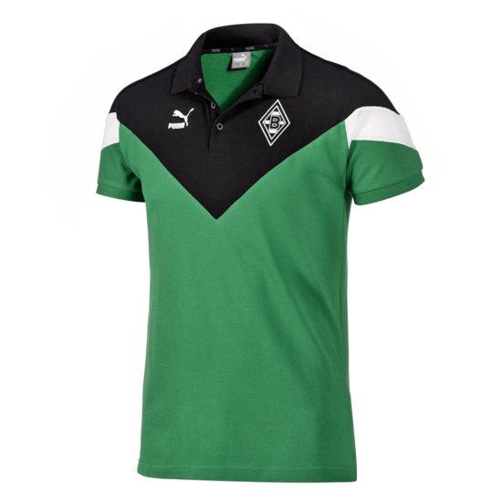 Puma Borussia Mönchengladbach Polo-Shirt Classic Grün