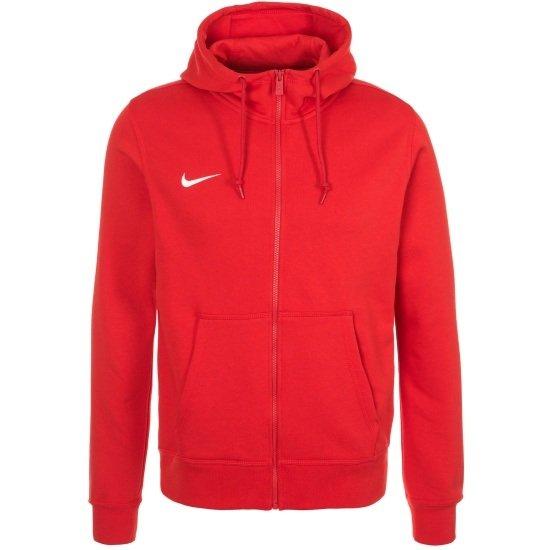 Nike Zip Hoodie Club Rot