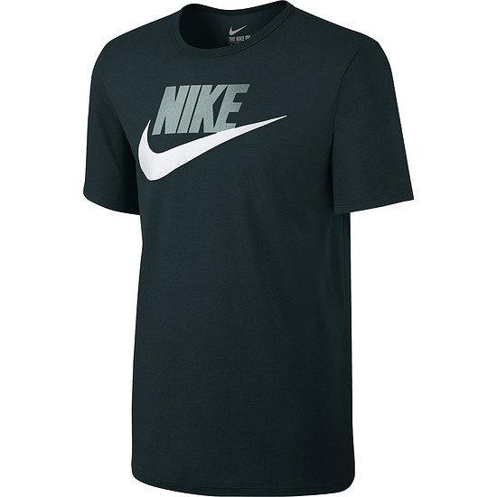 Nike T-Shirt Futura Icon Dunkelgrün/Grau