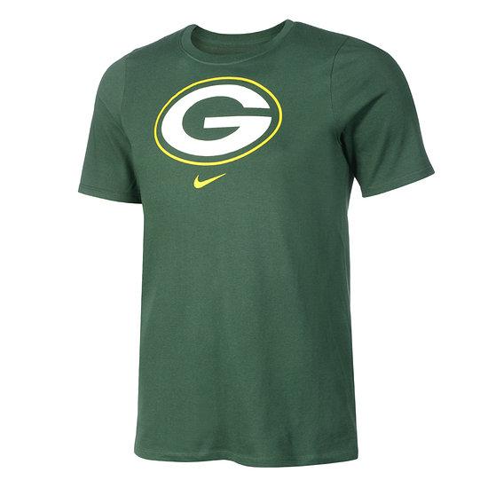Nike Green Bay Packers T-Shirt DFCT Essential Kinder grün