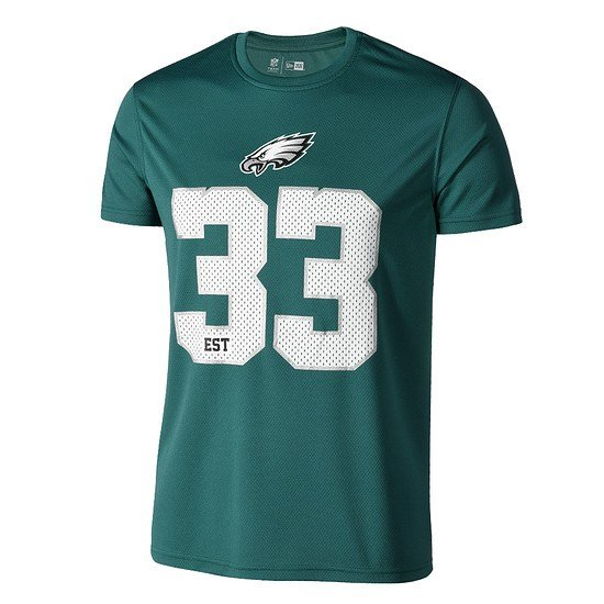 New Era Philadelphia Eagles T-Shirt Supporters grün