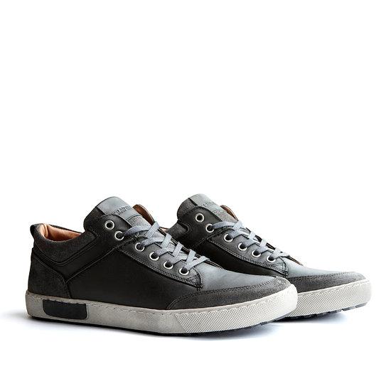 TRAVELIN OUTDOOR Sneaker Aberdeen Low grau/schwarz