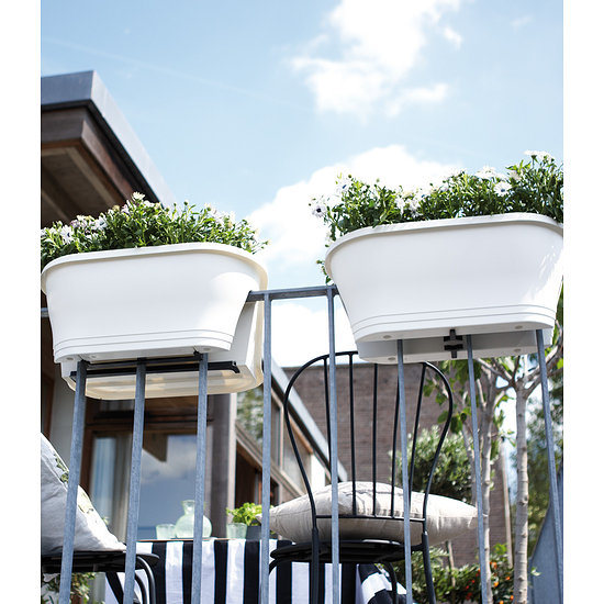 Garten-Welt Flower-Bridge Corsica 60 cm lang weiß