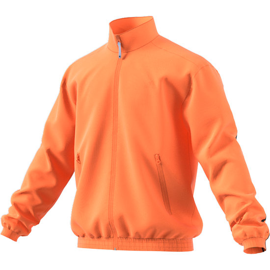 Adidas Trainingsjacke Woven 3 Streifen Orange