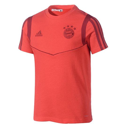 Adidas FC Bayern München T-Shirt Team Kinder Rot