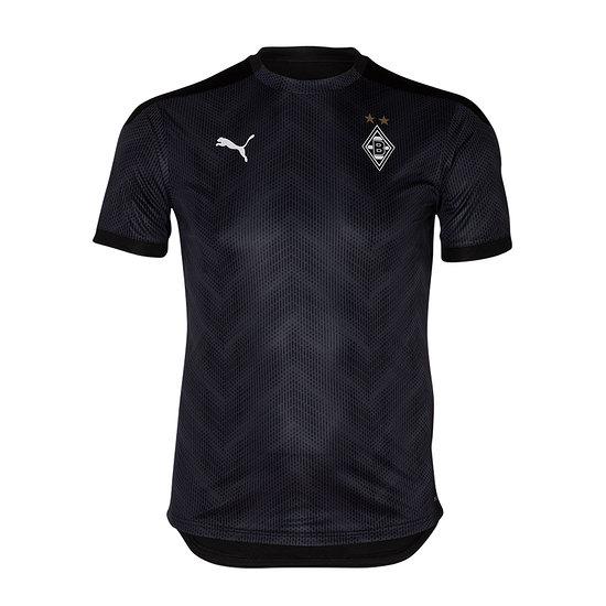 Puma Borussia Mönchengladbach T-Shirt Stadion 2020/2021 Kinder Schwarz