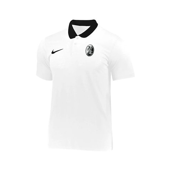 Nike SC Freiburg Poloshirt 2021/2022 Weiß