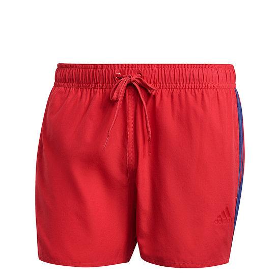 Adidas Freizeit-und Badeshorts 3S CLX Rot