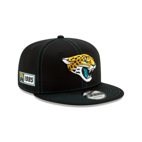 New Era Jacksonville Jaguars Cap On Field 9FIFTY schwarz