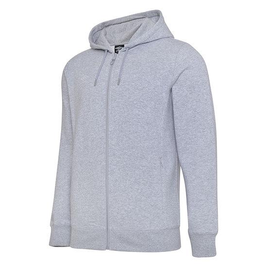Umbro Zip Hoodie Club S20 Kapuzensweatjacke Grau