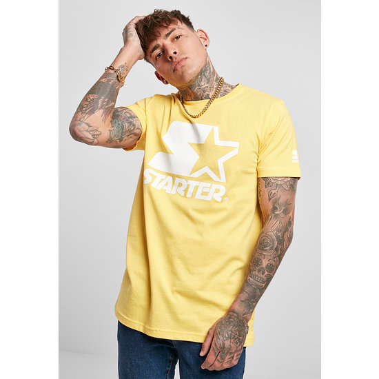 STARTER T-Shirt Logo Gelb