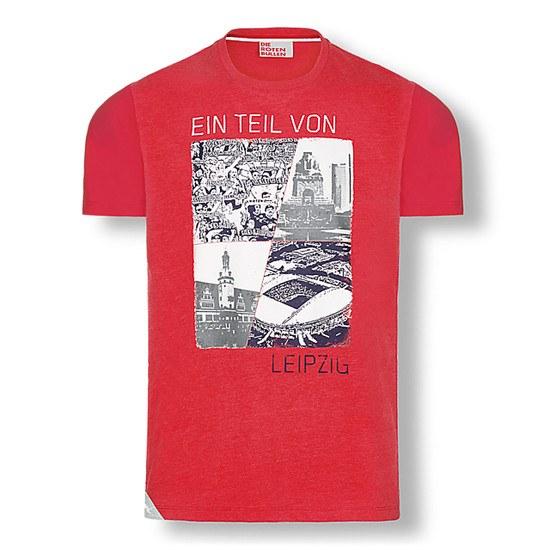 RB Leipzig T-Shirt Member rot