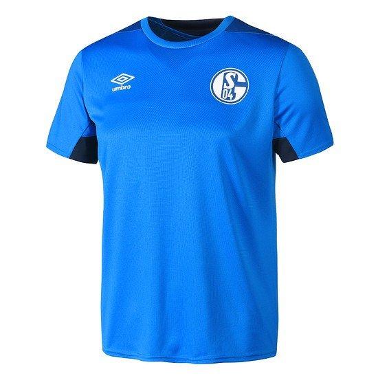 Umbro FC Schalke 04 Trainingsshirt Logo Blau