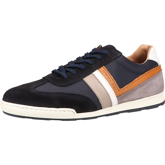 Sansibar Sneaker Leder/Textil dunkelblau