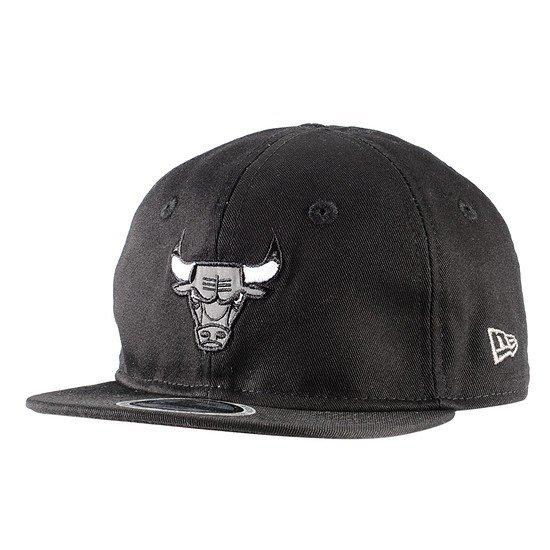 New Era Chicago Bulls Cap Reflect 9FIFTY Kinder schwarz