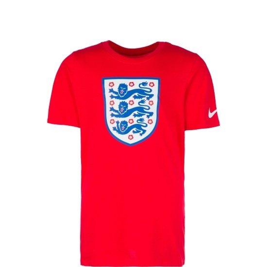 Nike England T-Shirt Football Kinder Rot